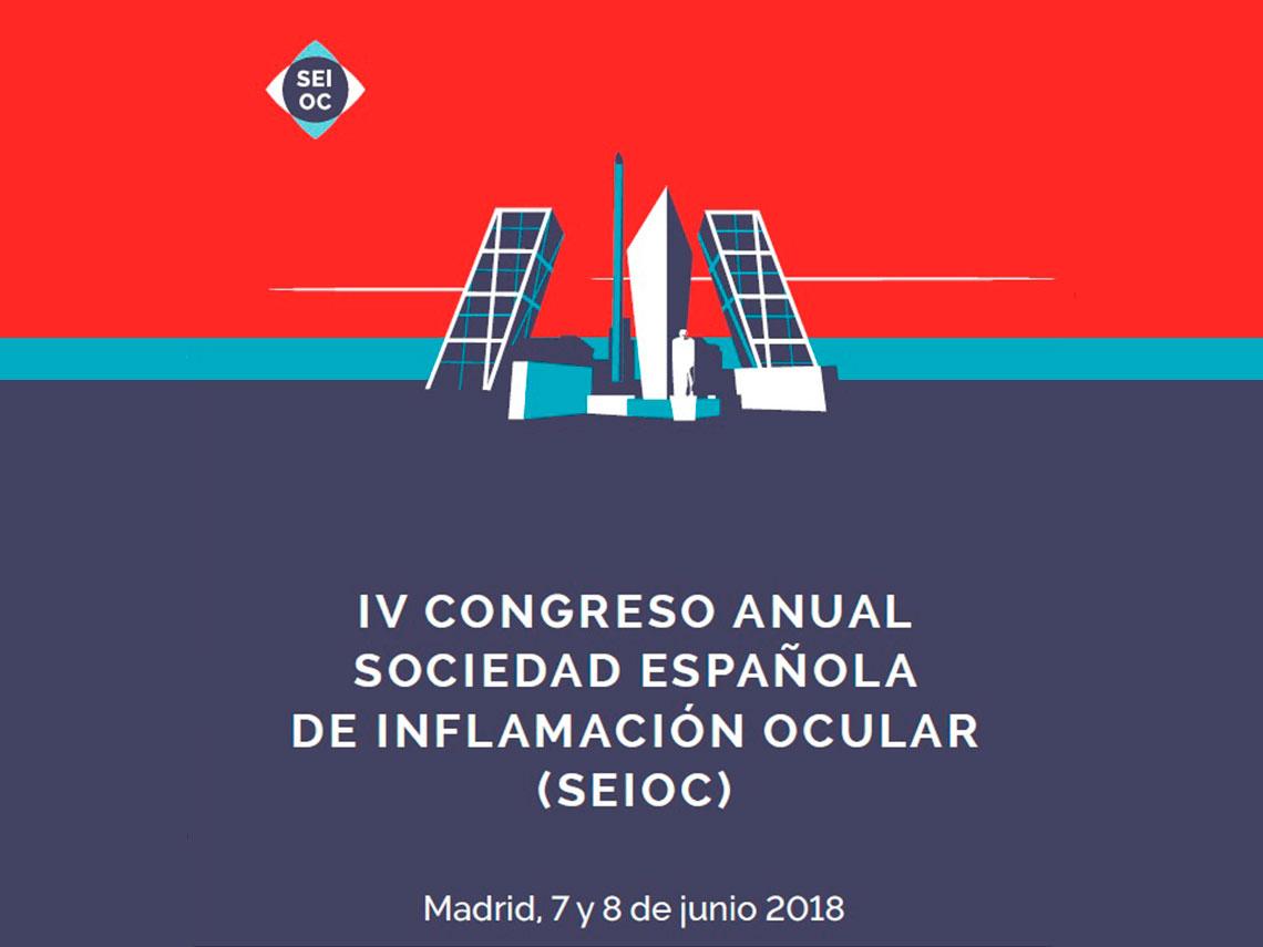 IV Congreso anual de la Sociedad Española de Inflamación Ocular (SEOIC)