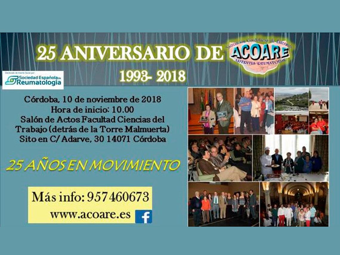 XXV  Aniversario ACOARE